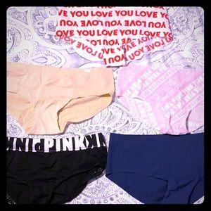 Pink Medium Underwear